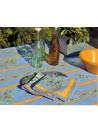 Nappe Enduite Clos des Oliviers Bleu 160x120