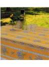 NAPPE COTON VALENSOLE JAUNE 160x120