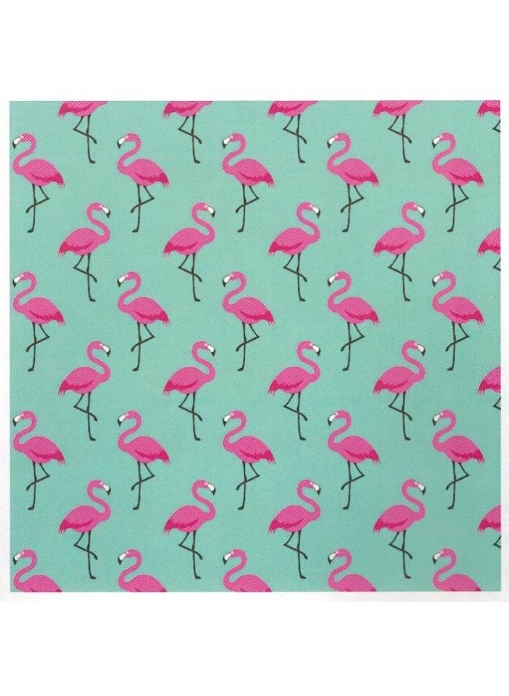 Nappe Enduite Flamingo Turquoise 160x120