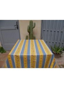 tissu-enduit-beaucaire-jaune-bleu
