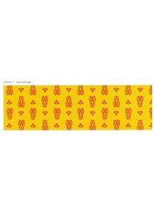 tissu-enduit-cigalou-jaune