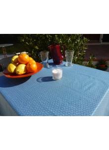 Nappe Enduite Saki Bleu Canard